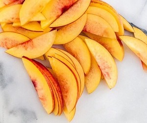 fruit, food, and peach image