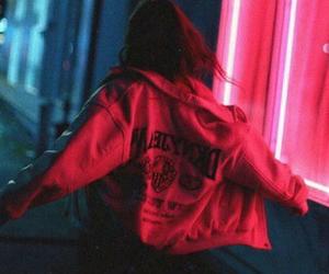 girl, grunge, and pink image