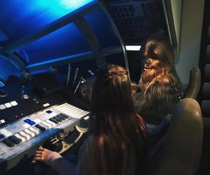 london, Londres, and chewbacca image