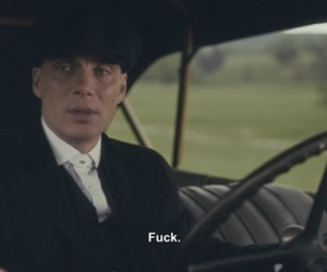 cillian murphy, thomas shelby, and reaction mood image