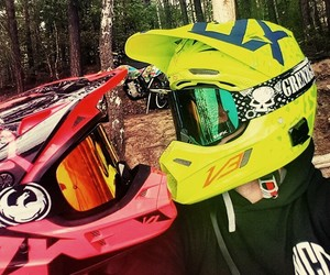 life, motocross, and love image