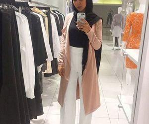 palazzo pants with hijab image