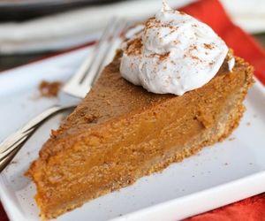 cake and Pumpkin Pie image