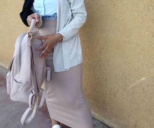 pencil skirt with hijab image