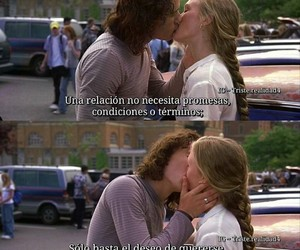 kiss, love, and deseo image