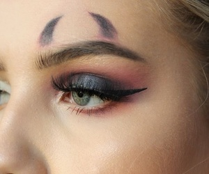 Halloween, makeup, and october image