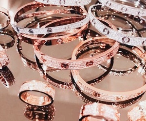 bling, bracelet, and bronze image