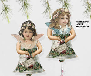 scrapbooking, christmas ornament, and craft project image
