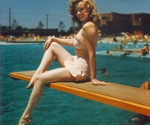 Marilyn Monroe, vintage, and summer image
