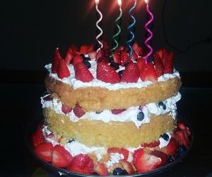 birthday, delicious, and birthday cake image
