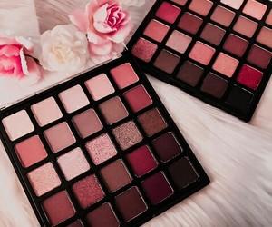 cosmetics, eyeshadow, and pink image