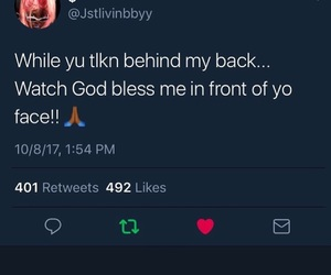 god, watch, and bless me image