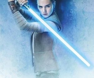 star wars, tlj, and rey image