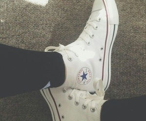 converse, fall, and tumblr image