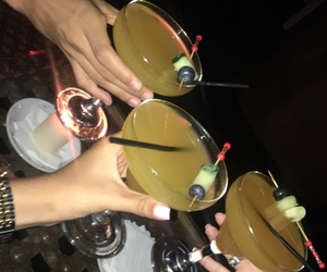 Cocktails, drink, and fashion image