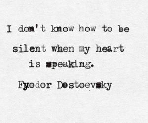 quotes, heart, and dostoevsky image
