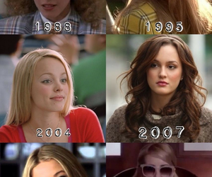 Clueless, mean girls, and blair waldorf image