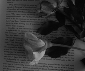 black and white, books, and emotional image