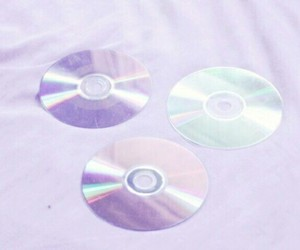 purple, lilac, and cd image