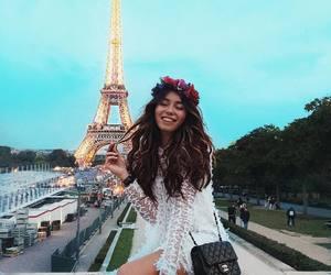 chanel, tour eiffel, and fashion image