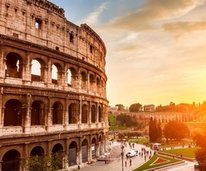 italy, colosseo, and rome image