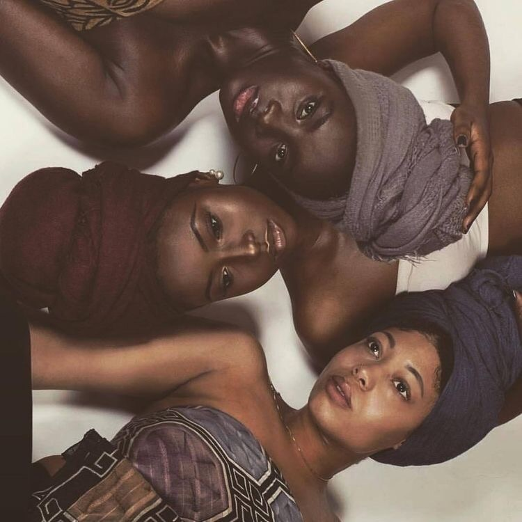 melanin, beauty, and black girls image