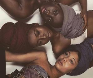 melanin, beauty, and black girls image