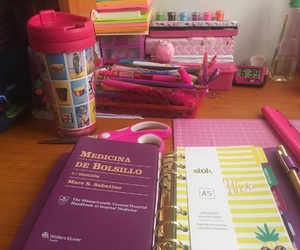 agenda, barbie, and colors image