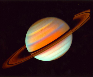 space, planet, and saturn image