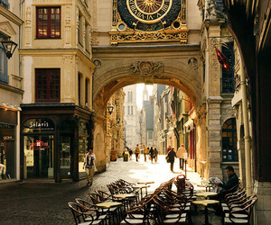 france, city, and rouen image