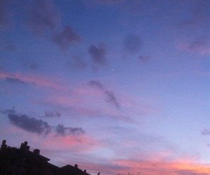 sky, sunset, and aesthetic image