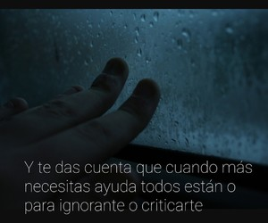 frases, triste, and palabras image