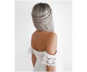 boho, fashion, and grey image