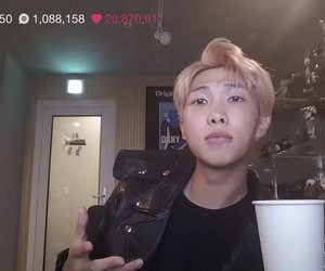 rm, bts, and rap monster image