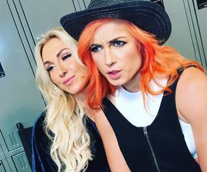 wwe, beckylynch, and charlotteflair image