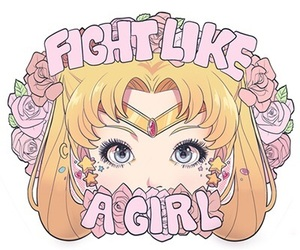 sailor moon, pink, and quotes image
