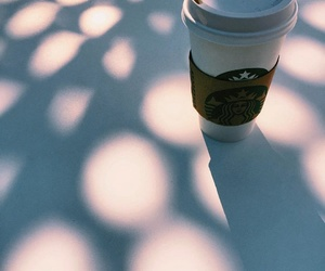 drink, coffee, and starbucks image