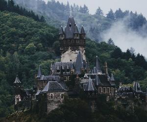 castle, nature, and landscape image