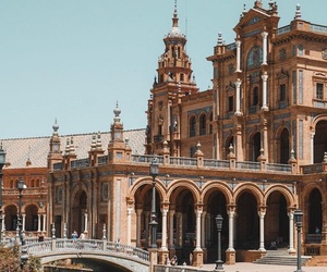 spain, travel, and beautiful city image