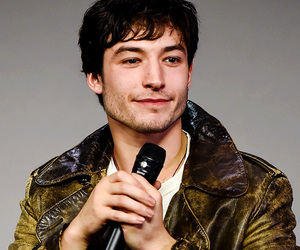justice league and ezra miller image