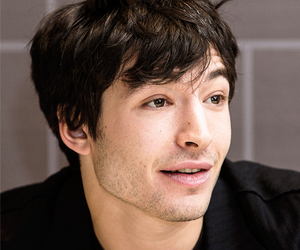 flash, justice league, and ezra miller image