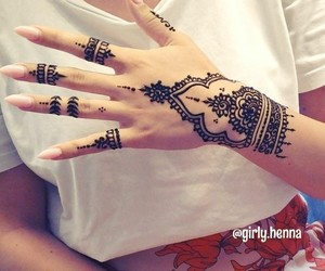 arabic, hand art, and hands image
