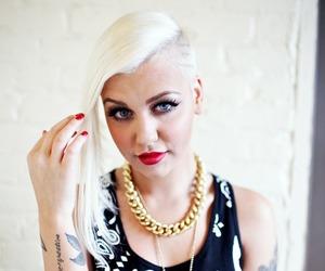 blue eyes, bracelets, and jewelry image