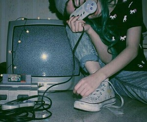 grunge, game, and 90s image