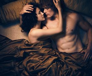 Claire, reunion, and jamie fraser image