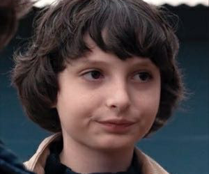 mike, finn wolfhard, and stranger things image