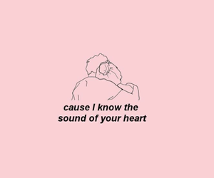 pink, quotes, and heart image