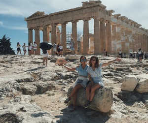 acropolis, Athens, and friend image
