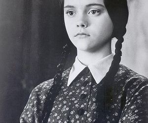 wednesday, wednesday addams, and black and white image
