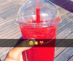 summer, snapchat, and red image